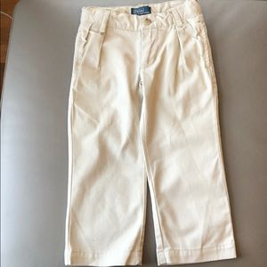 Polo RL Beige Pants Size 2T